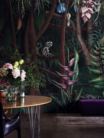 POLLERI5 Wallpaper London Art Collection 18