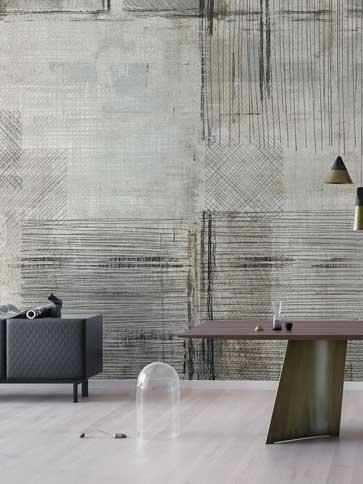 POLLERI5 Wallpaper London Art Modernity